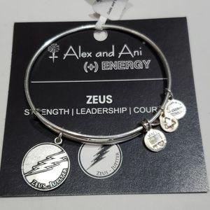Alex and Ani Zeus lightning bolt 🌩 bracelet